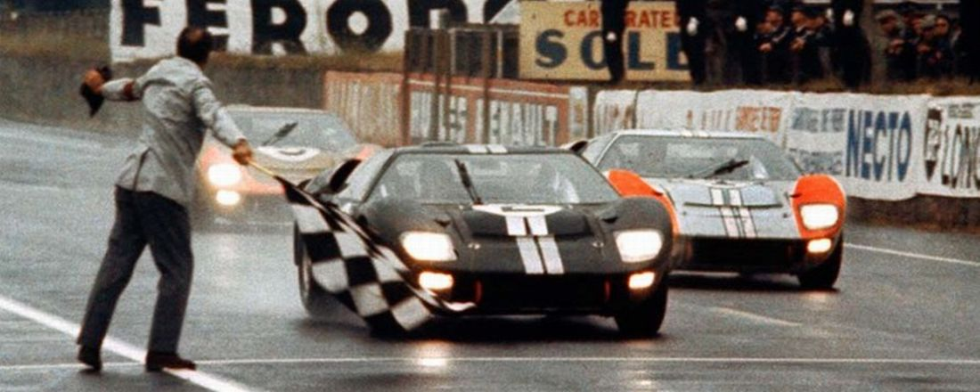 Ford GT40 LeMans 1966