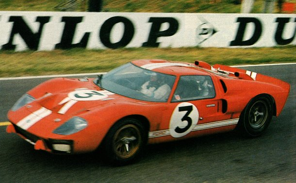 Ford GT40 MkII. Le Mans 1966