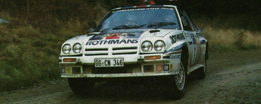 Opel Manta 400. Jimmy McRae