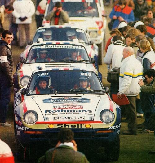 Porsche 959 Paris Dakar