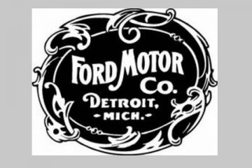 Logo Antiguo de Ford