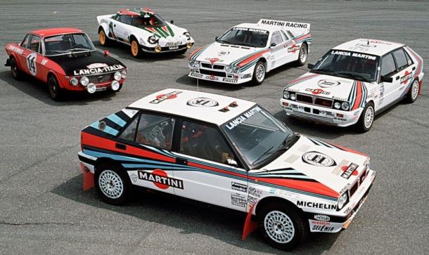 Los mejores Lancia de Rallye