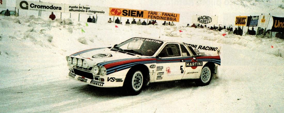 Lancia 037 E2. Grupo B