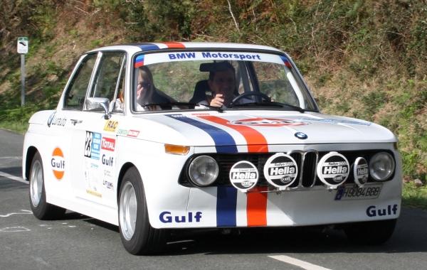 BMW E21. Rallye Vasco-Navarro Histórico