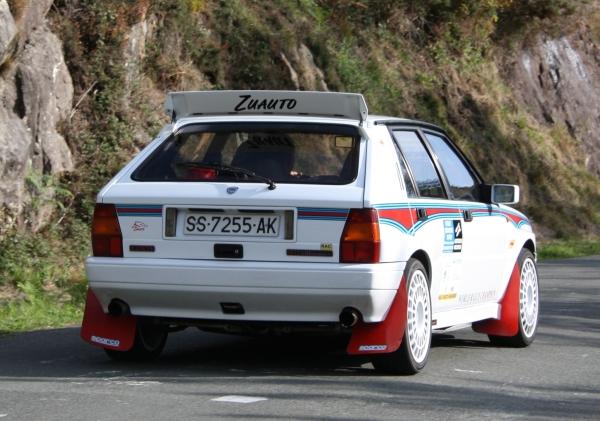 Lancia Delta Integrale. Rallye Vasco Navarro Histórico