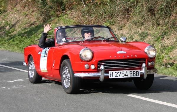 Triumph MkII. Rallye Vasco-Navarro Histórico