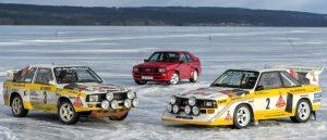 Audi Sport Quattro en sus 3 versiones