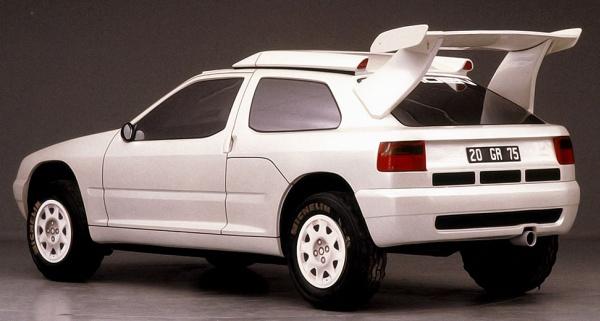 Citroen ZX Rallye Raid Prototype 1990
