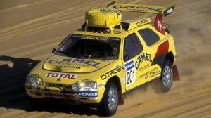 Citroën ZX Rallye Raid. Dakar 1991