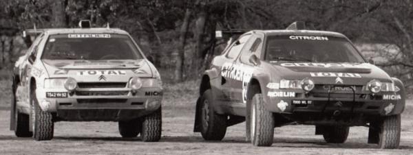 Citroën ZX Rallye Raid vias anchas