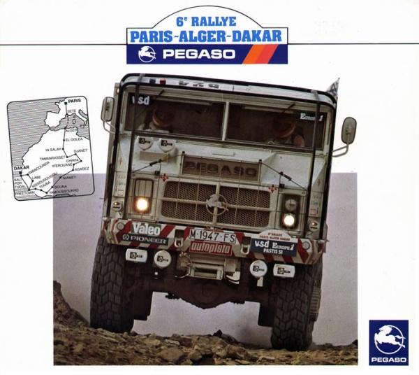 Pegaso 3046 Egipcio. Dakar 1984.