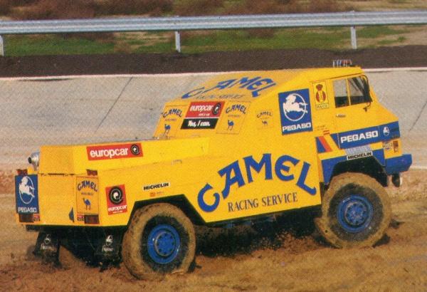 Pegaso Proto Dakar 1988