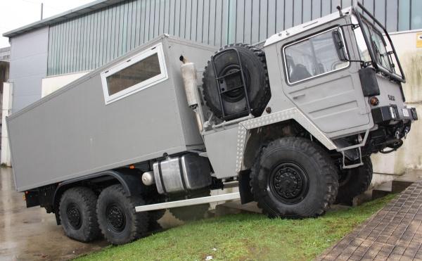 MAN 20320 6x6 Dakar