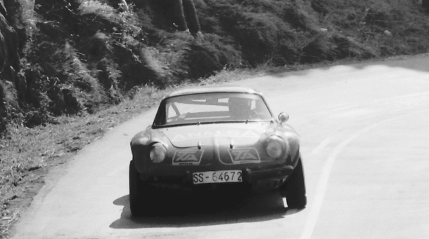 Josemi Gabilondo. Alpine A110