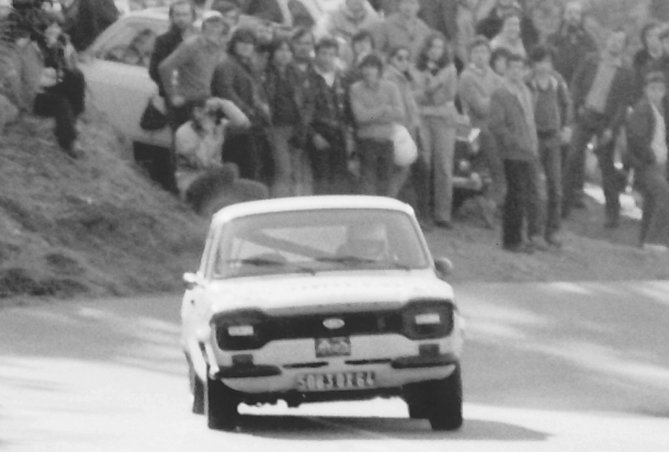 Jose Luis Carreira. Ford Escort MkI