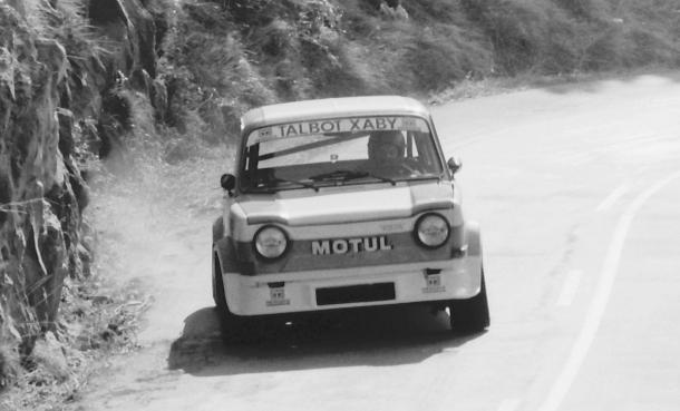 Joaquin Goiburu. SIMCA Rallye