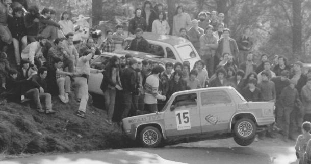 Jose Manuel Ortiz. SIMCA Rallye
