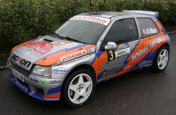 Renault Clio Maxi Mattin Villares. RallySprint de Hondarribia 2017