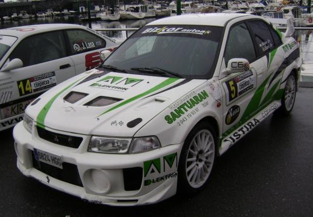 Mitsubishi EVO V. RallySprint de Hondarribia 2017