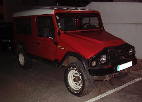 UMM Alter Turbo II. Vista Frontal.