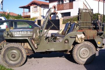 Jeep Willys desembarco de Normandía