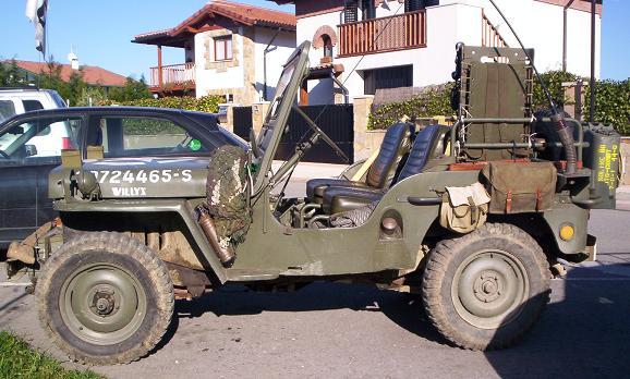 Jeep Willys desembarco de Normandía