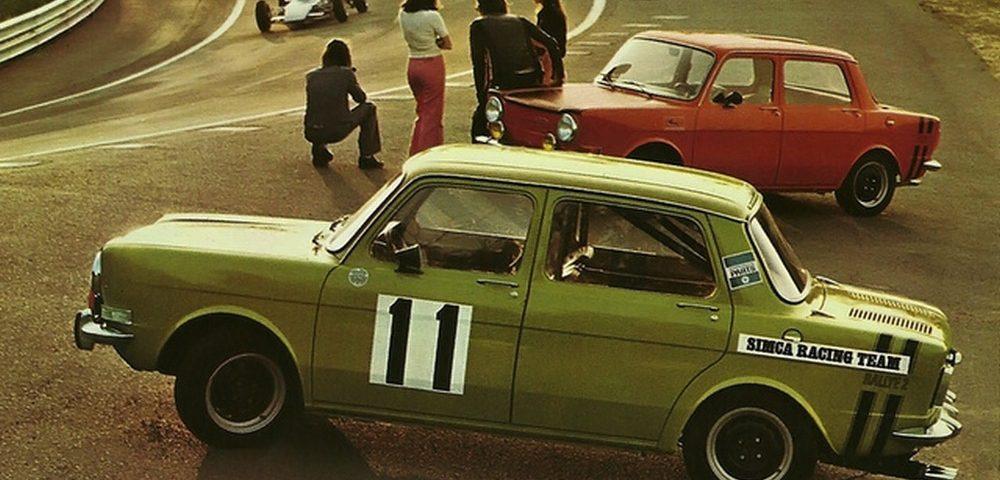 Publicidad SIMCA Rallye