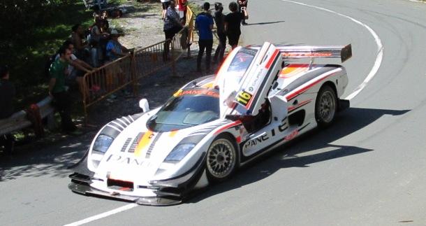 Raul Borreguero. Mosler GTR 900. Subida a Jaizkibel 2017