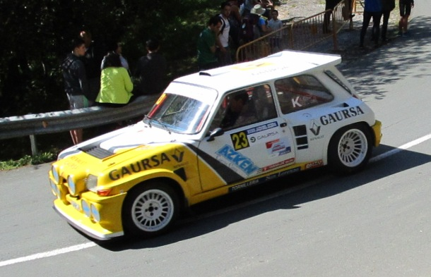 Lebeiti. Renault 5 Turbo. Subida a Jaizkibel 2017