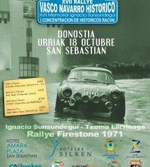 Rallye Vasco-Navarro histórico 2014