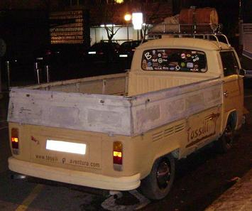 Volkswagen T2 Pick-up.