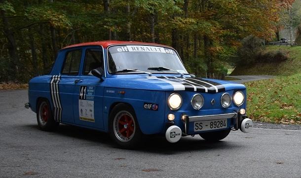 Rallye Vasco-Navarro Histórico 2017.