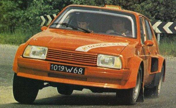 Citroën Visa Dangel 1983