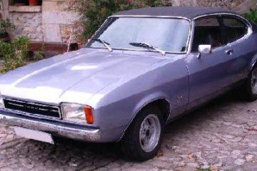 Ford Capri MkII Ghia