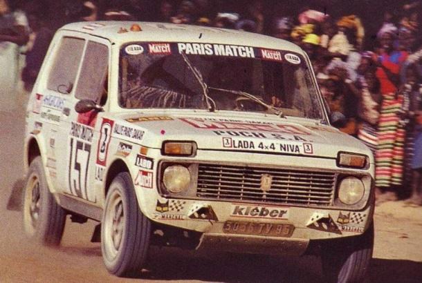 Lada Niva Dakar 1981 Jean Claude Briavoine