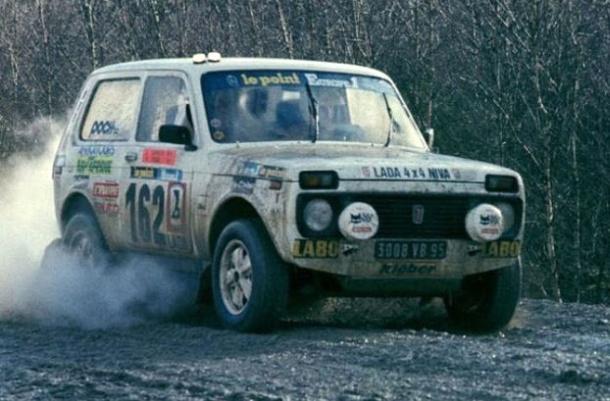 Lada Niva Dakar 1982 Alain Oger
