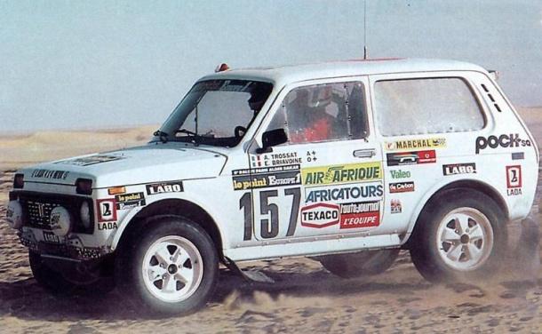 Lada Niva 1981 Andre Trossat