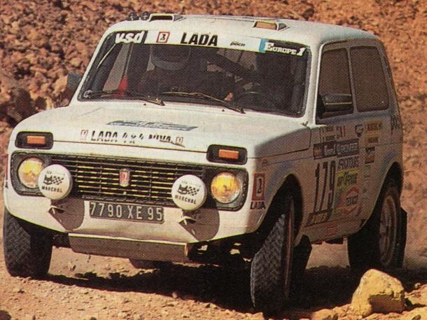 Lada Niva Dakar 1984 André Trossat