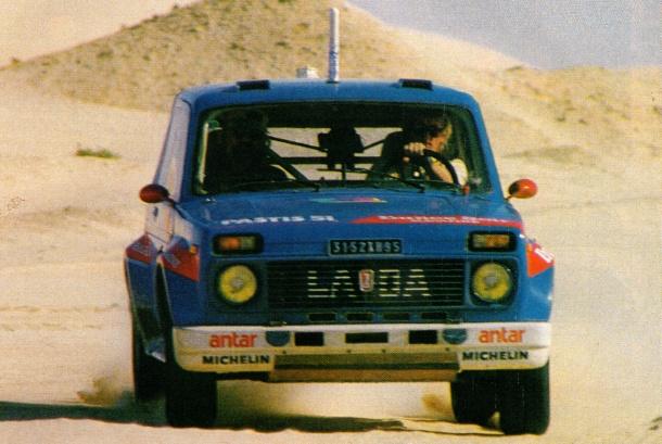 Lada Niva V6 Dakar 1985