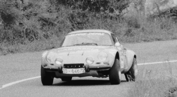 Josemi Gabilondo. Alpine A110 1600. MotorMania