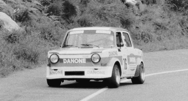 Joaquín Goiburu. Simca Rallye. MotorMania