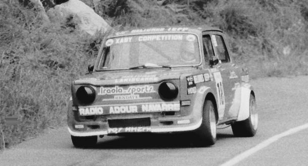Michel Lamiscarre. Simca Rallye. MotorMania