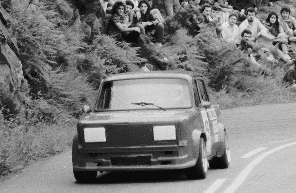 José Luis Carreira. Simca Rallye. MotorMania