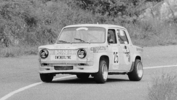 Agustín Alzaga. Simca Rallye. MotorMania