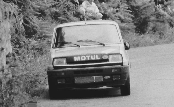Juan Gurrutxaga. Renault 5 Copa. MotorMania