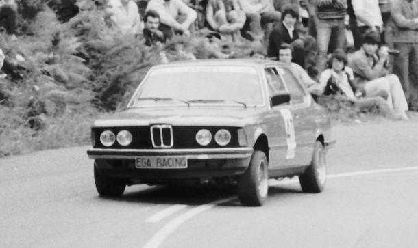 Ernesto Arrizabalaga. BMW 320 E21. MotorMania