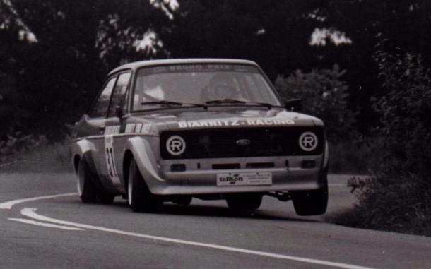 Serge Coursan. Ford Escort. Jaizkibel Txiki 1.982