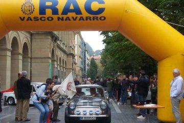 Rallye Vasco Navarro Histórico 2018.