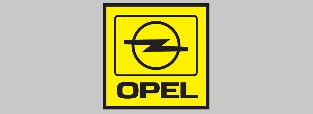 Logo Opel años '80