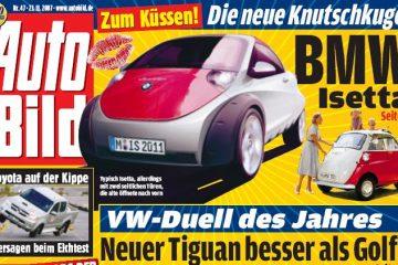Prototipo del nuevo BMW Isetta